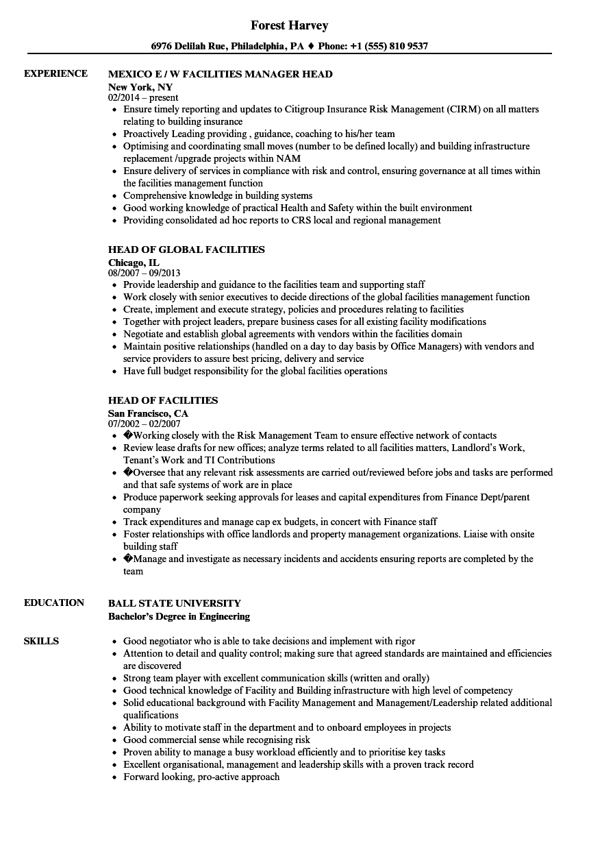 custodian engineer resume sample
