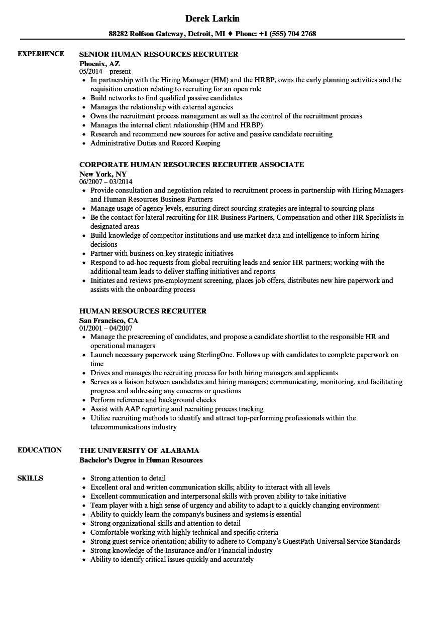 applicant tracking system cv