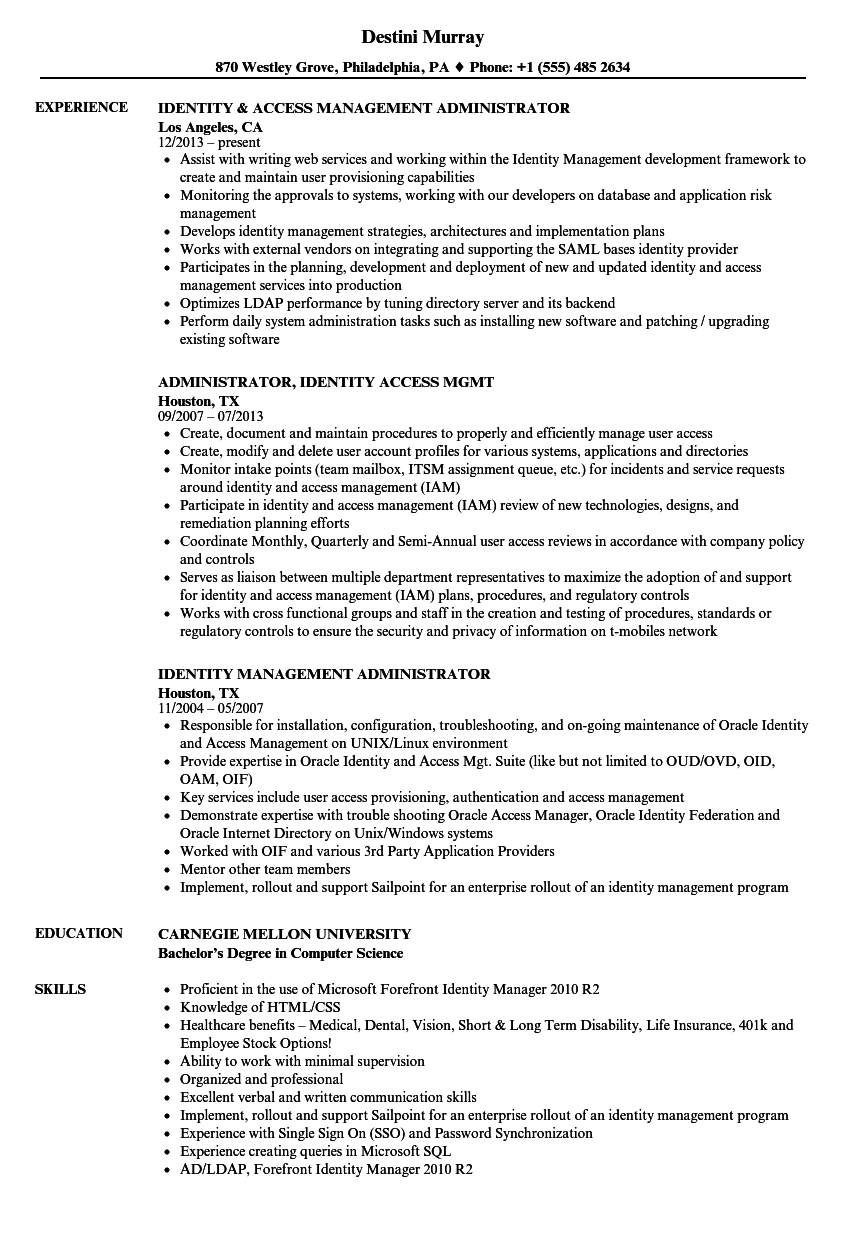 sample resume for troubleshooting linux