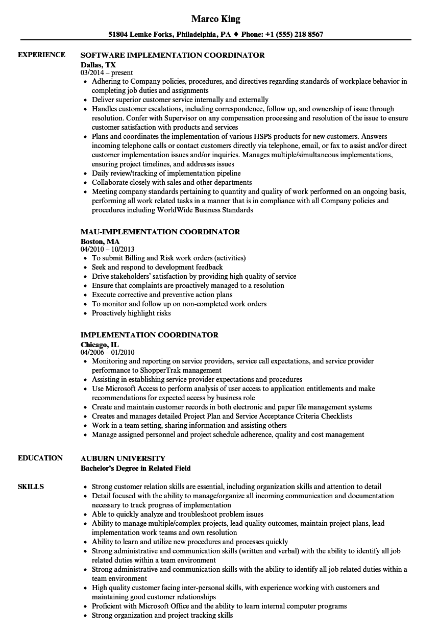 payroll specialist and benefits coordinator resume sample
