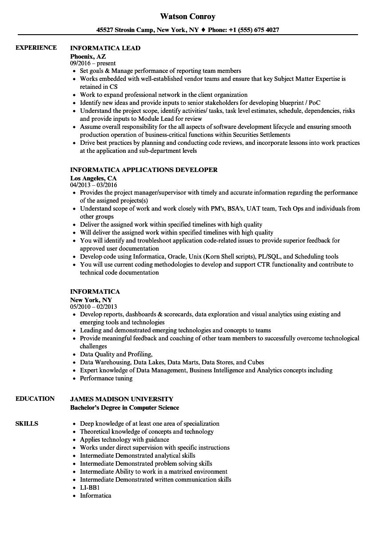 salesforce developer resume samples indeed