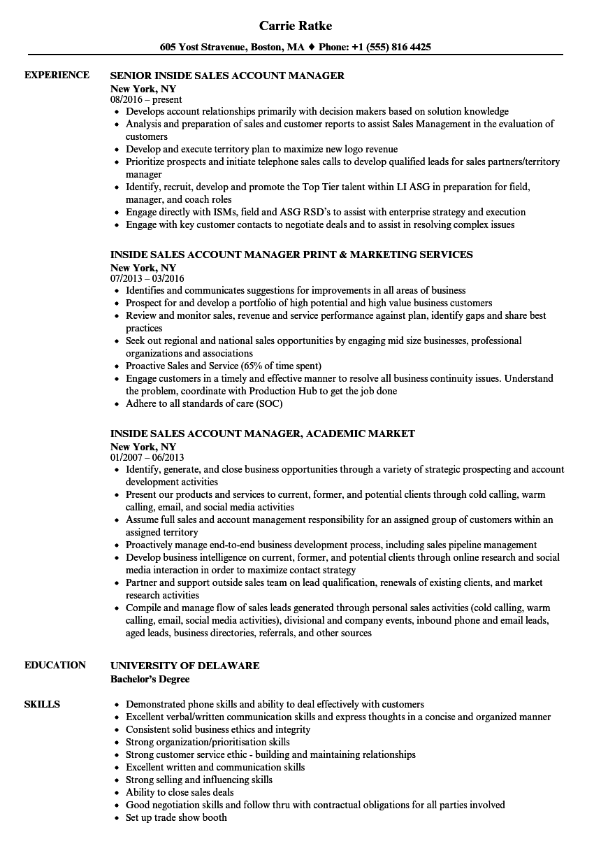 for premier resume examples