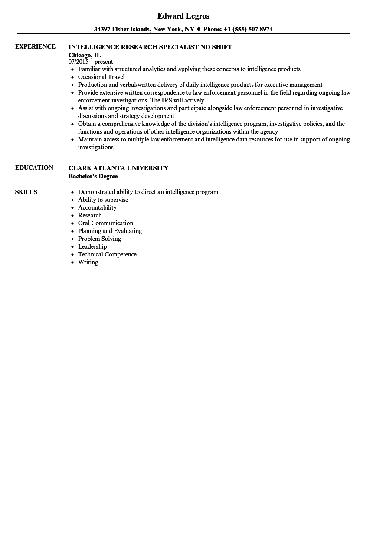 senior research engineer resume sample