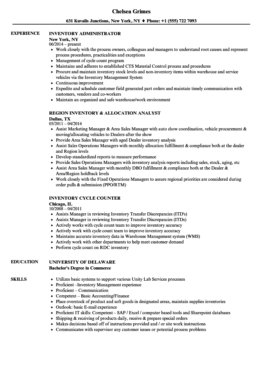 hyperion resume sample