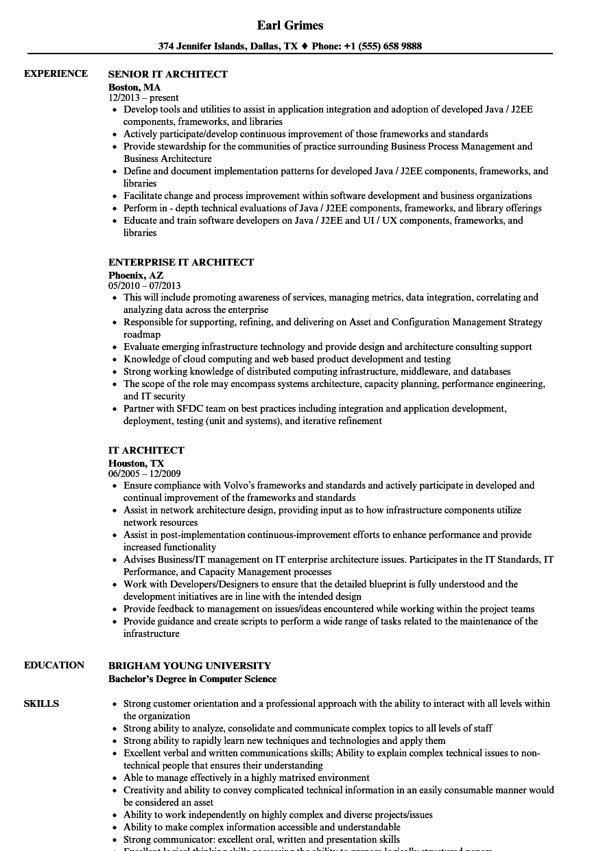 examples of business skills for resume