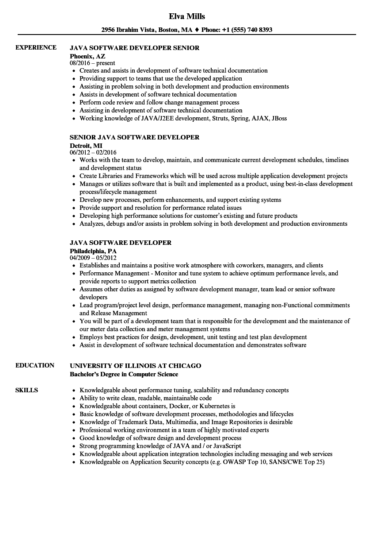 aws sample resume