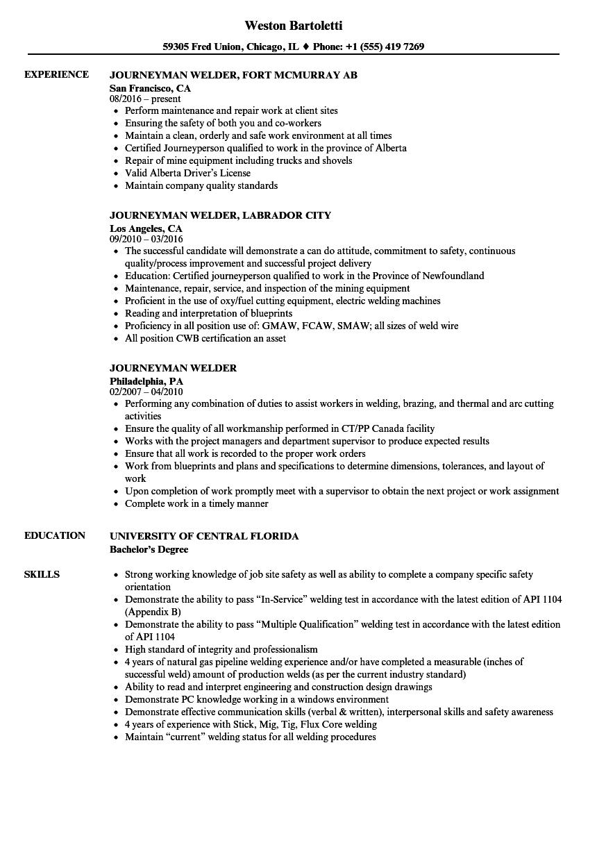 scaffolder resume sample