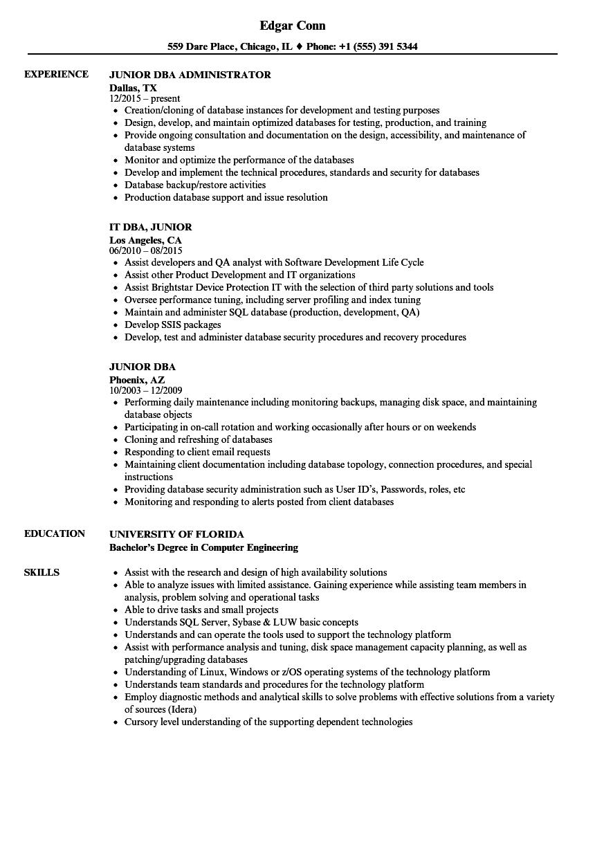 a server resume sample