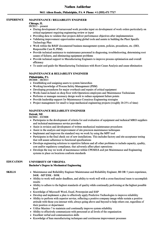 site reliability engineer sample resume