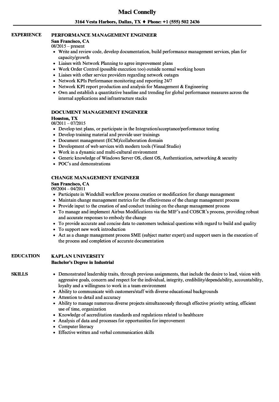 wsdot engineer resume sample