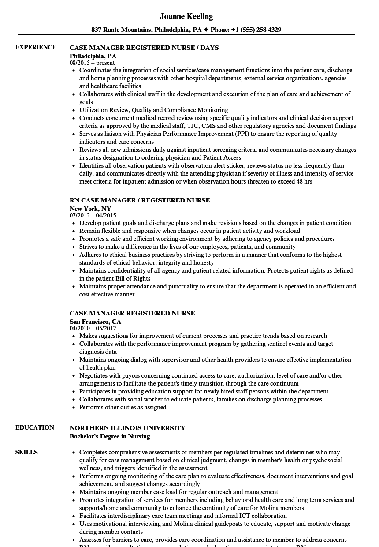 resume examples rn registered nurse