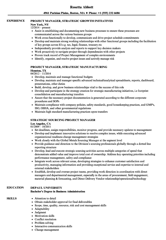 resume work well under pressure