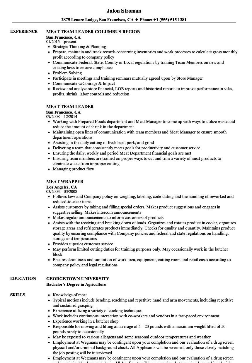 department manager resume objective examples