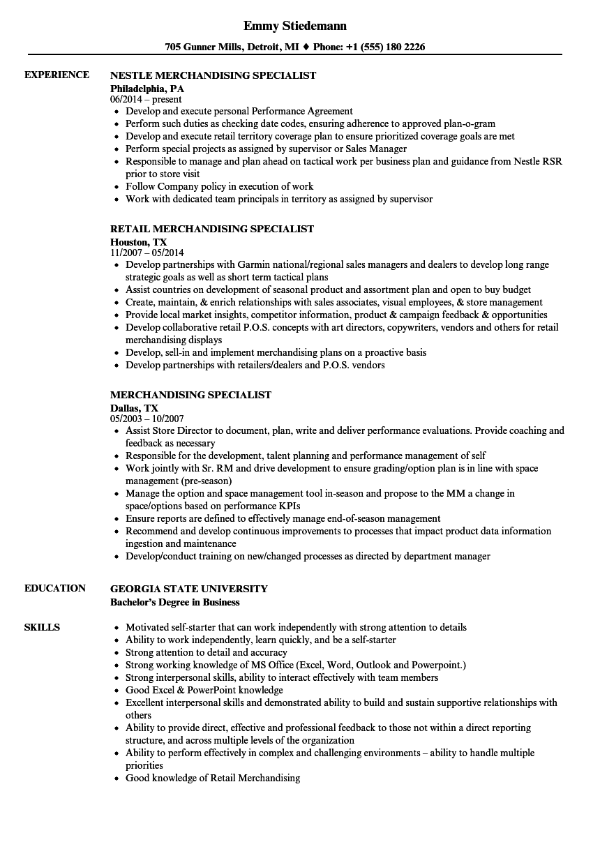 distribution resume examples