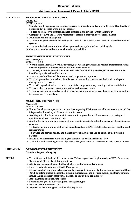 stress engineer sample resume