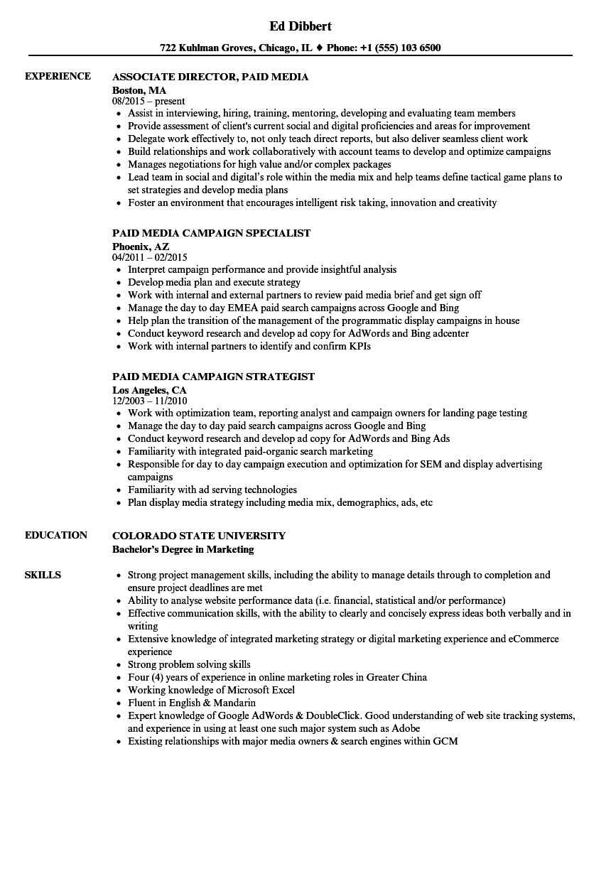 resume builder adobe