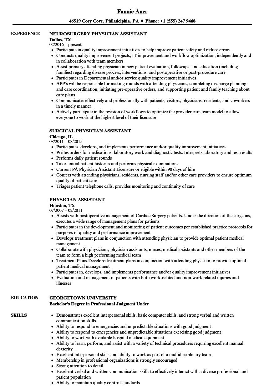 resume burn pa sample
