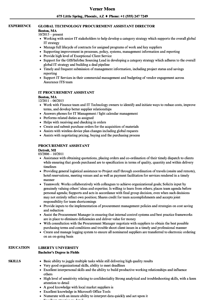 cv template administrative assistant availability