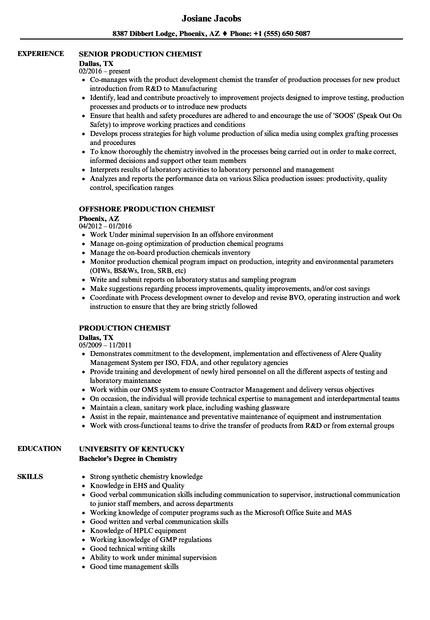 examples of qualities for a resume
