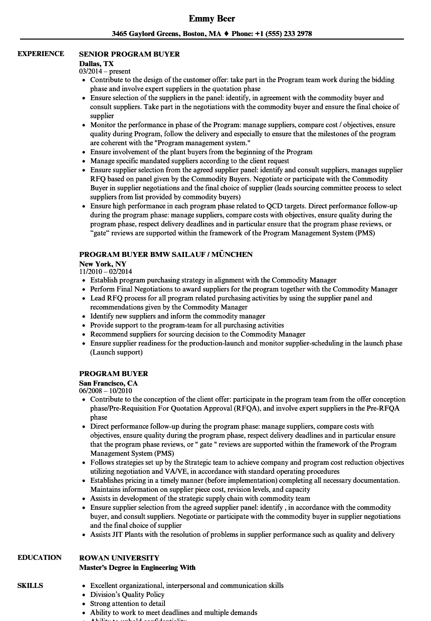retail logistics resume sample