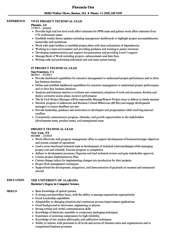 agile test lead resume sample