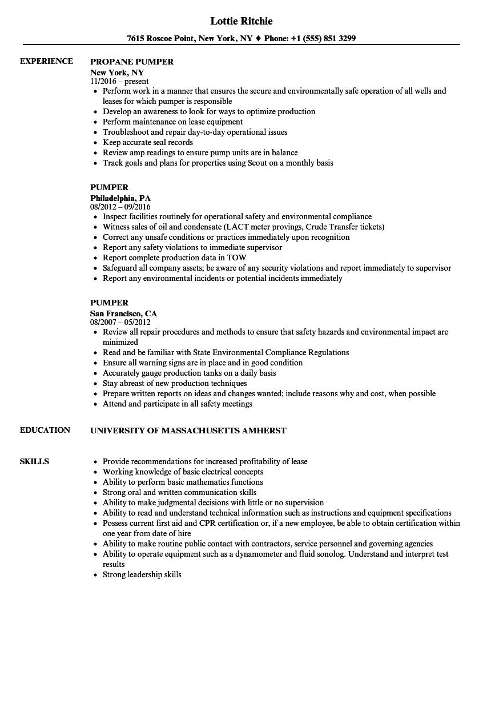 unique resume sample