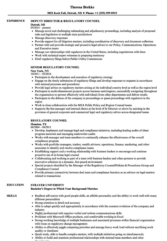 legal job resume sample