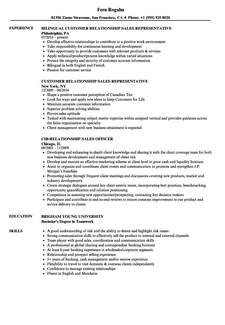 resume examples for management jobs