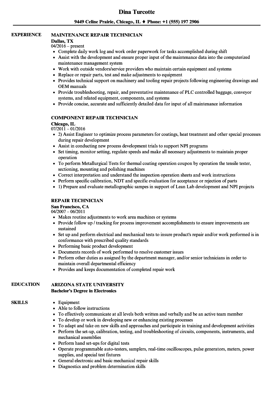 troubleshooting resume sample