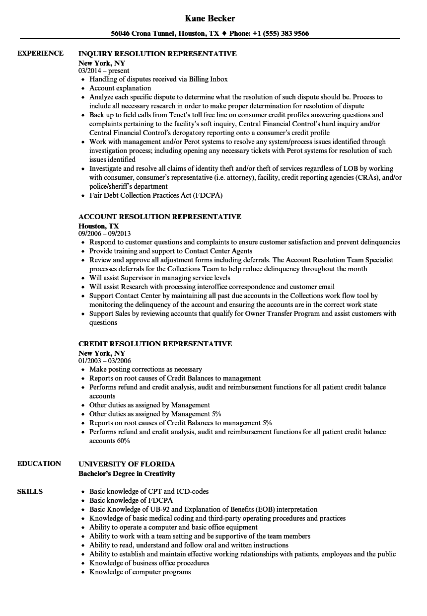 resume sample for jobs with no experience