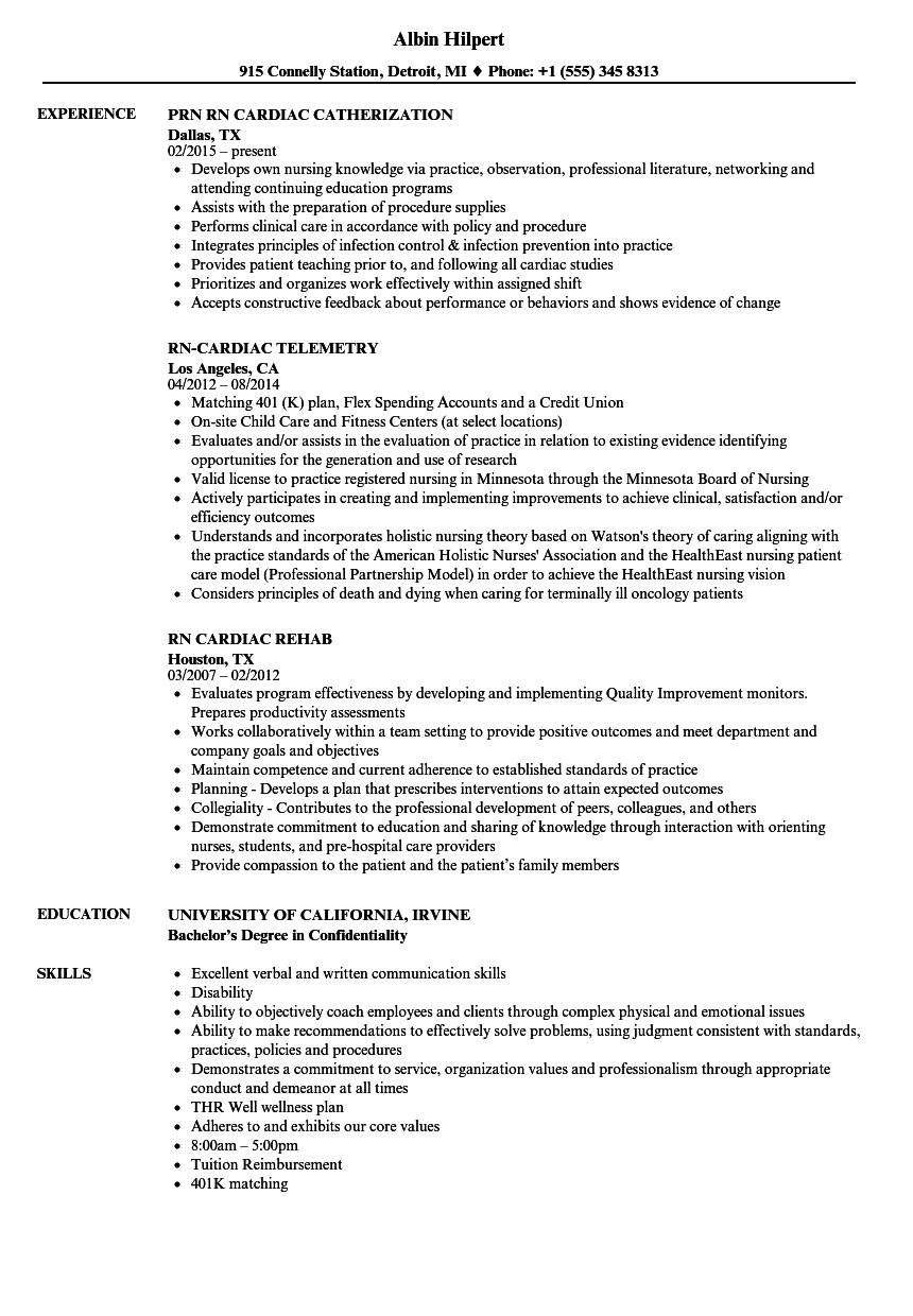 resume skills and knowledge examples