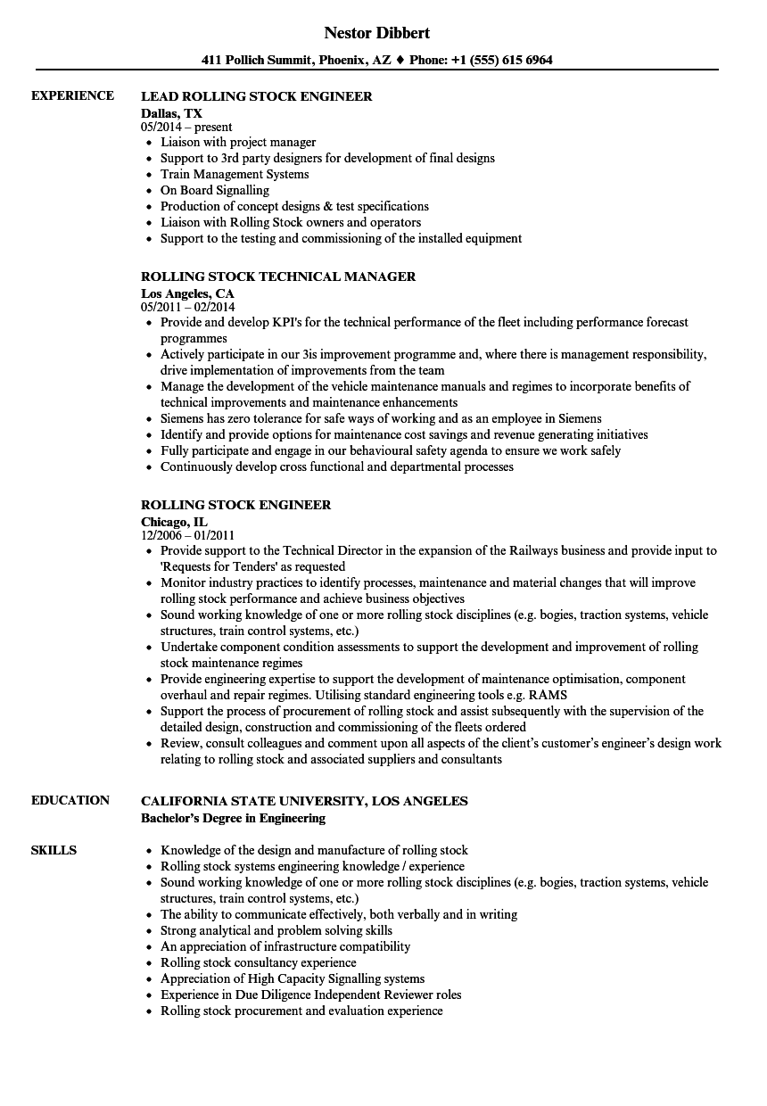 stock manager resume sample