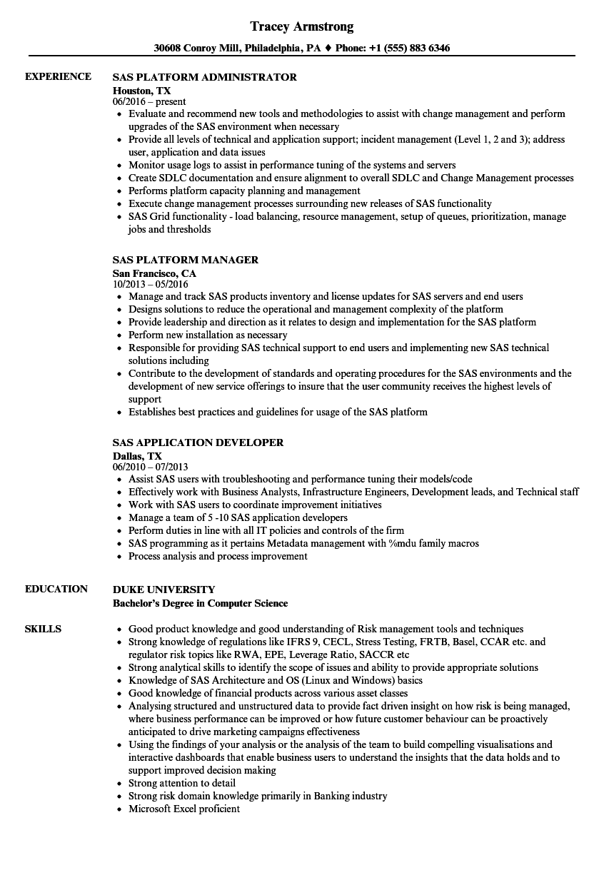 resume examples analytical skills