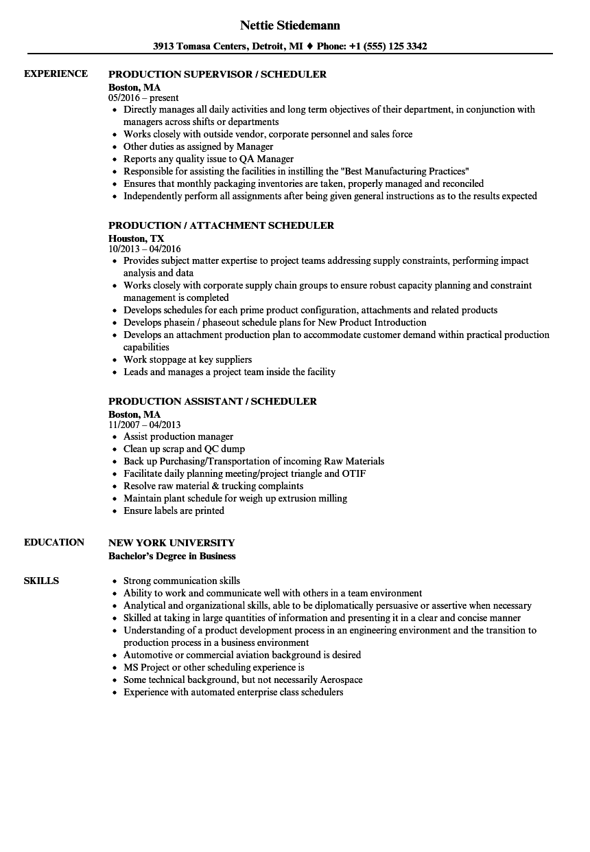 how to form resume for job