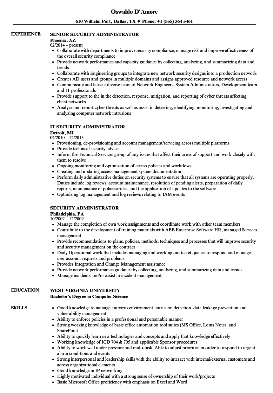 as400 administrator resume sample