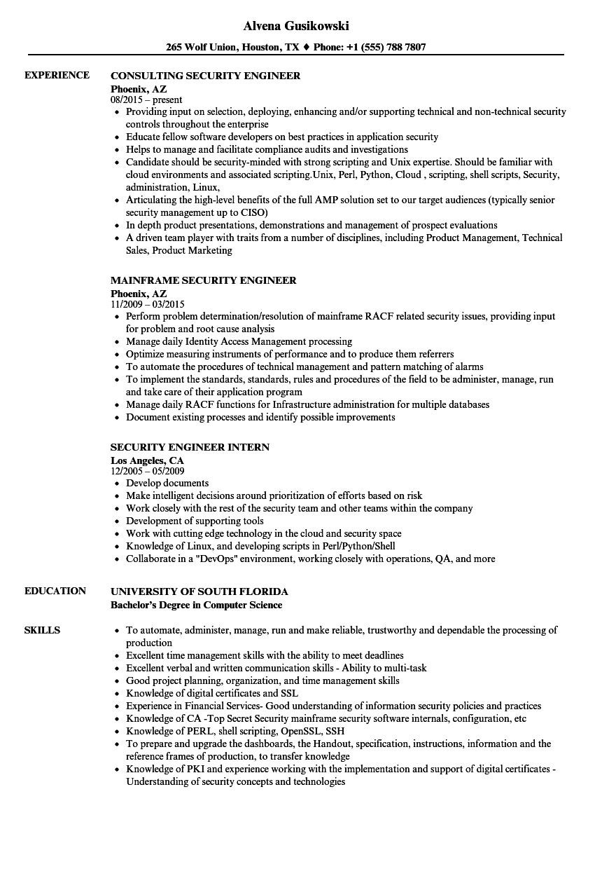 pki consultant sample resume
