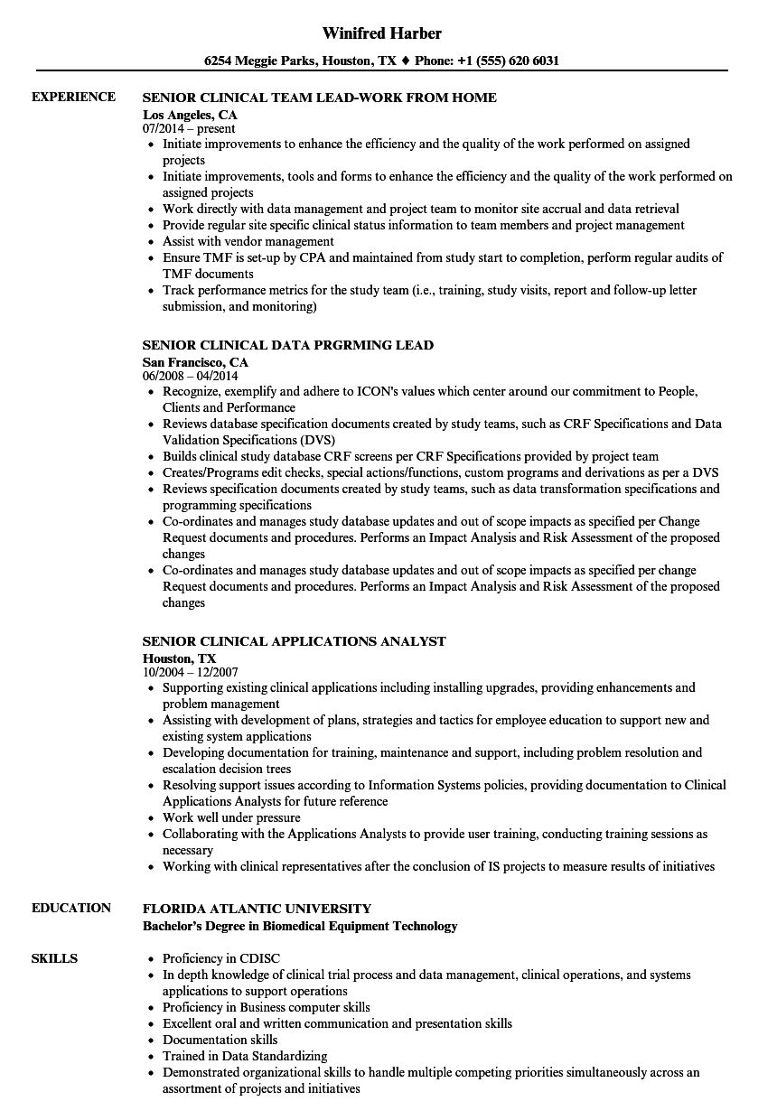 dta specialist resume sample