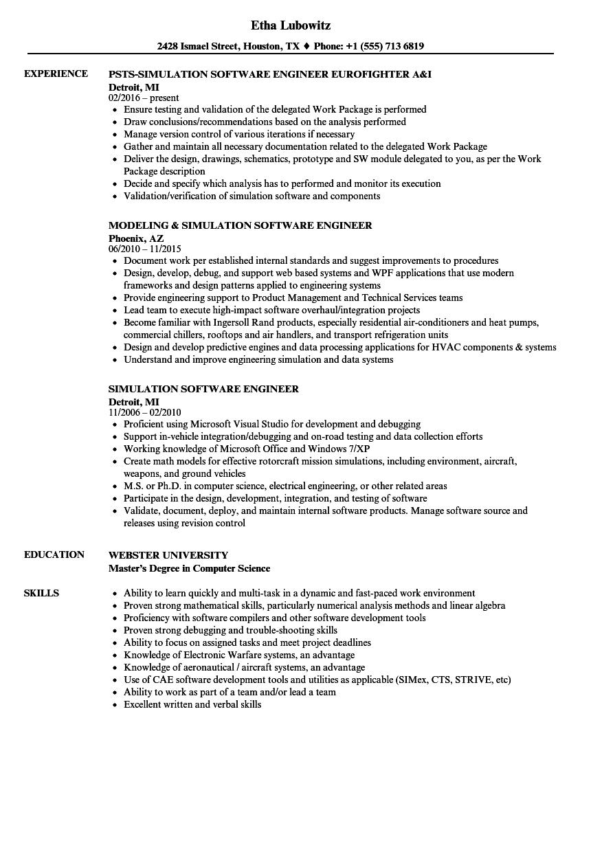associate software engineer sample resume