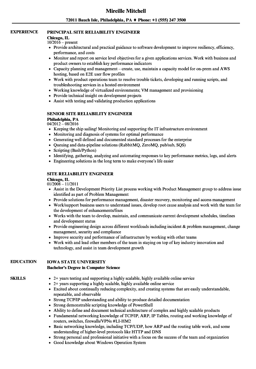 sample identity and access management engineer resume
