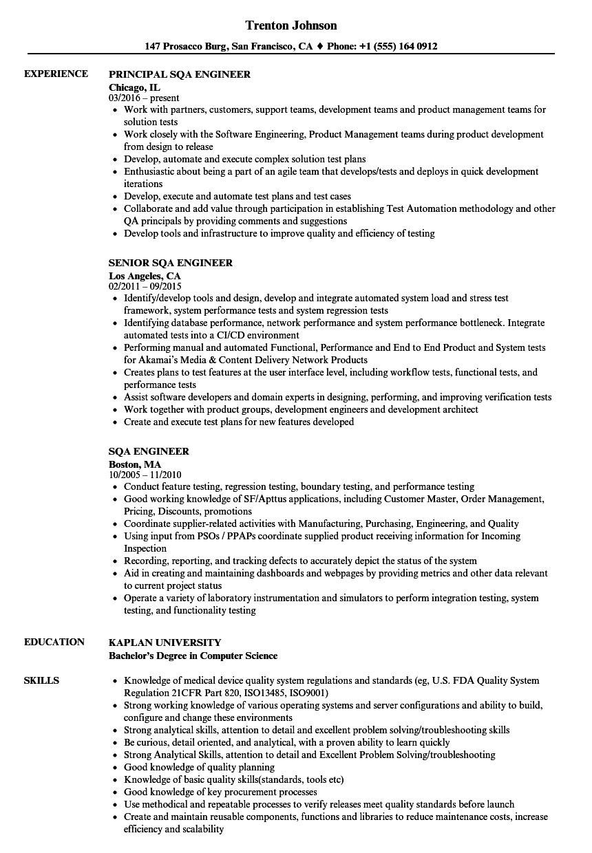 image processing engineer resume sample