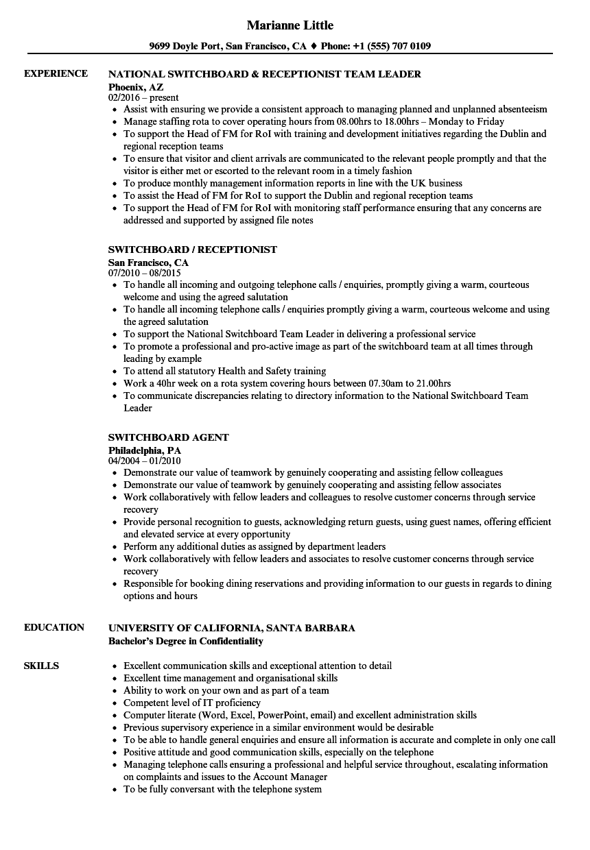 resume support questions