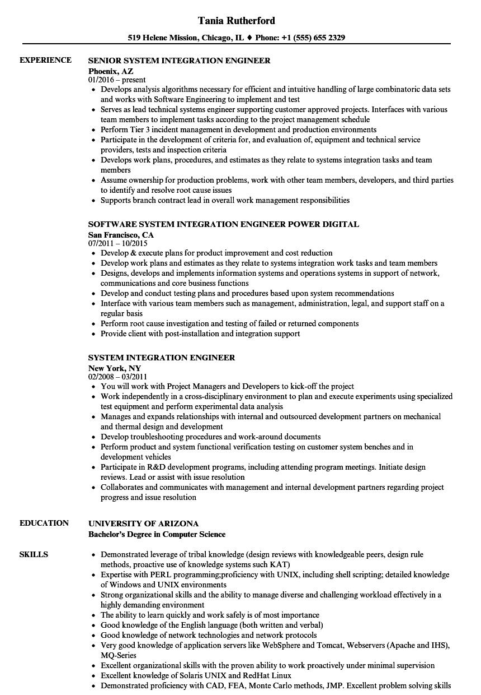 resume sample product engineer