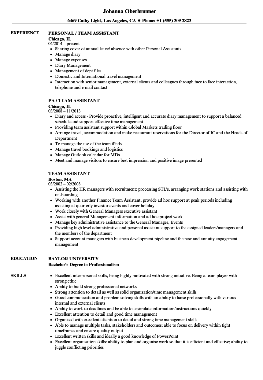 resume skills examples for administrative assistant