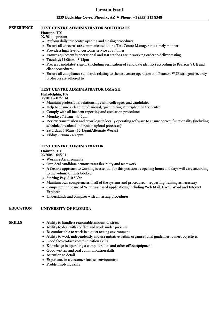 attention to detail examples for resume