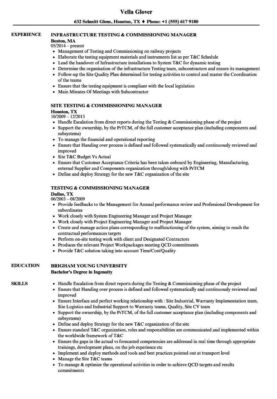 cv telecom engineer pdf