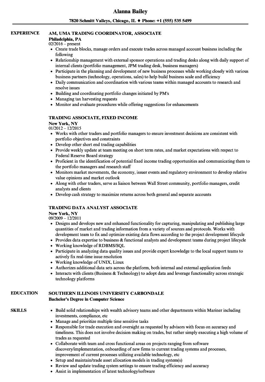 associate degree in commerce resume sample