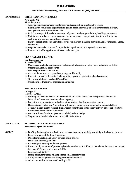 sem resume examples