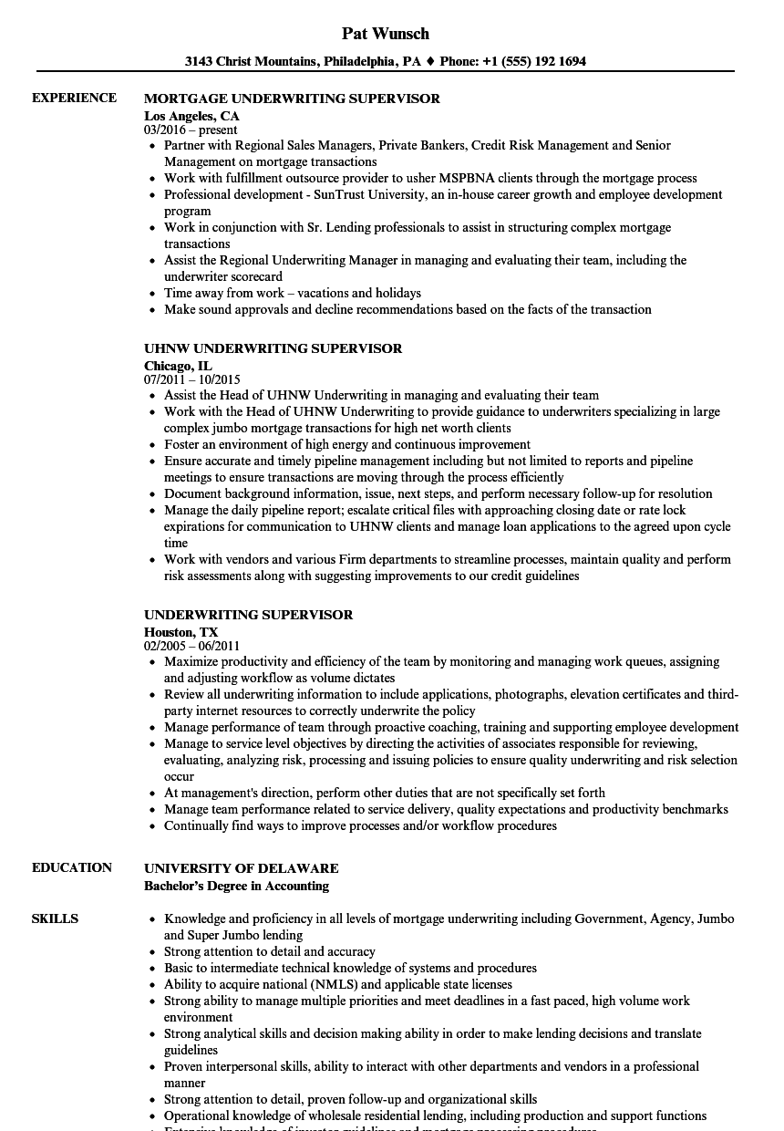 sample of resume title