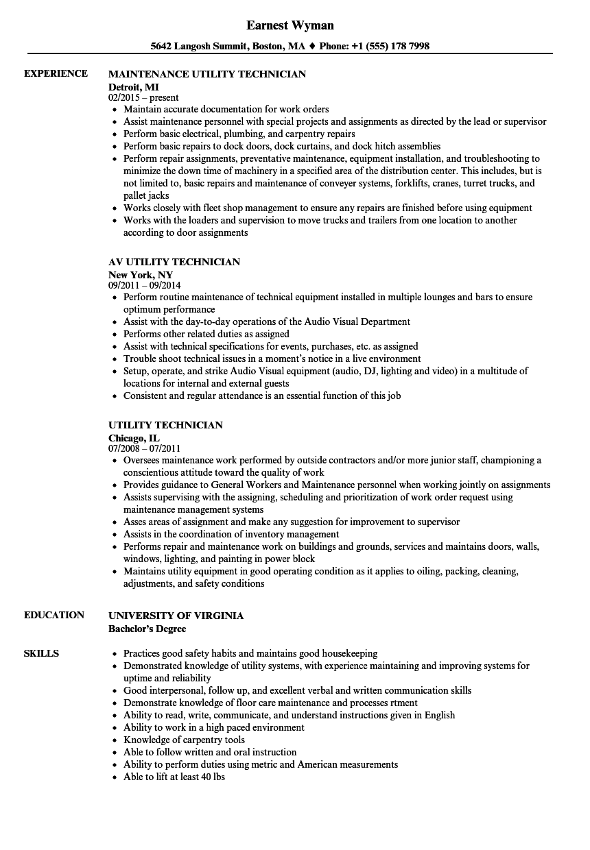 copier it technician resume sample