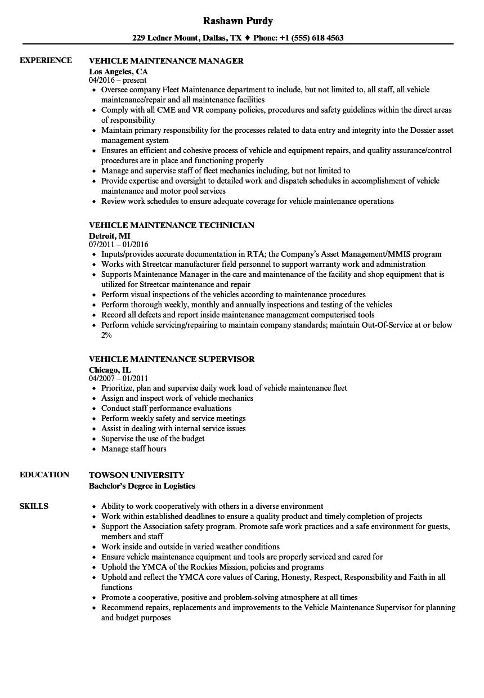 sample resume for car wash technician